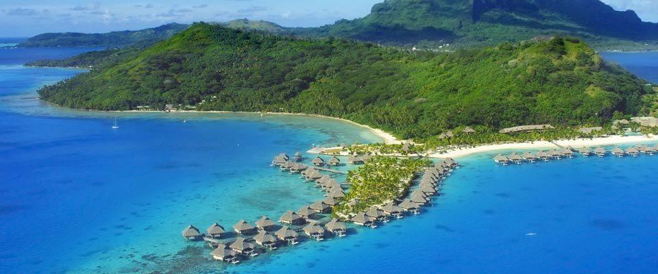Bora bora most romantic island in French Polynesia