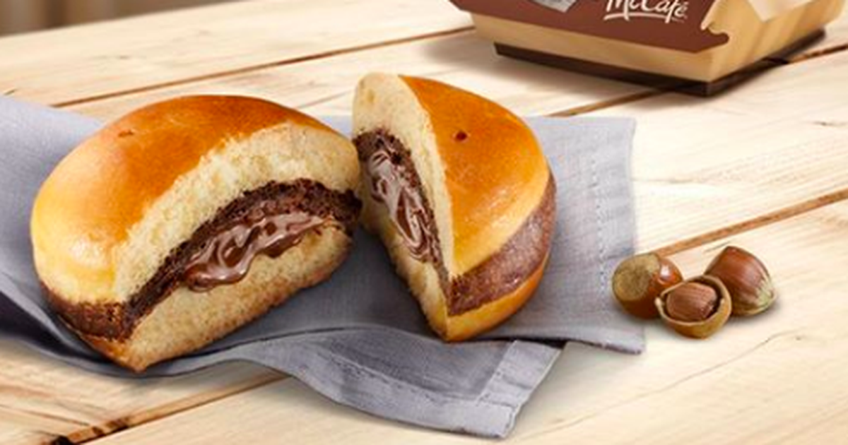 McDonald's are introducing a new burger and it will make chocoholics rejoice