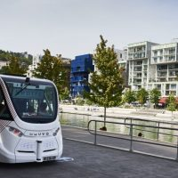 World's first driverless bus service launched in French