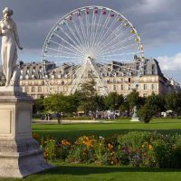 Tuileries Gardens is the biggest park inside Paris