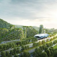 the world's first Forest City developing in china