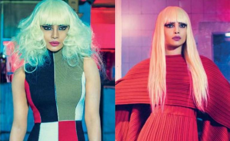Priyanka Chopra's New Blonde Look that again to set up fire