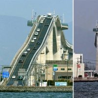 Eshima Ohashi Bridge is the most dangerous bridge in japan