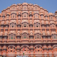 Do you know Jaipur's Hawa Mahal built to look like lord Krishna's crown