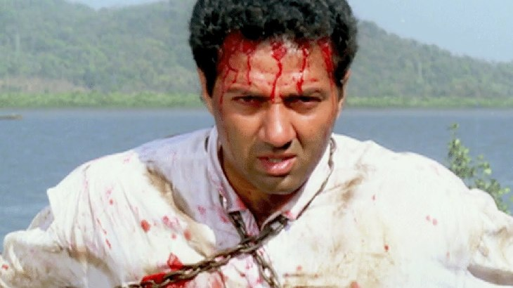 power full sunny deol dialogue in hindi