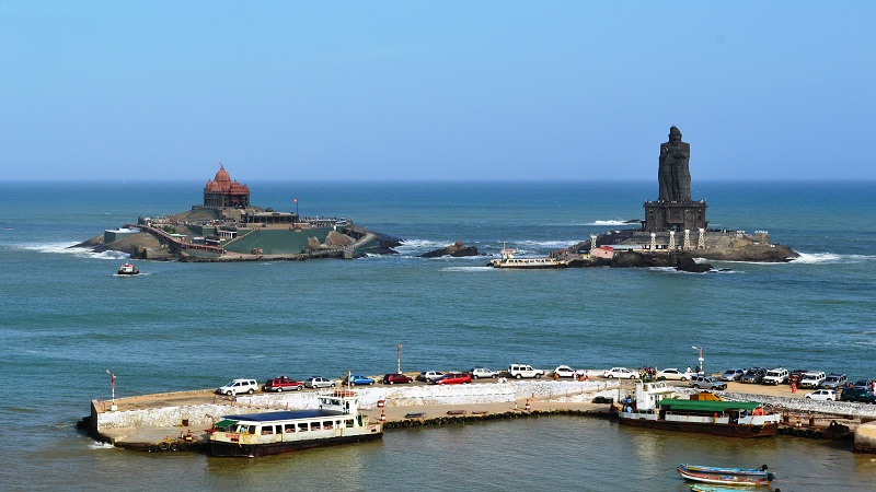Vivekananda Rock Memorial finest monument in kanyakumari