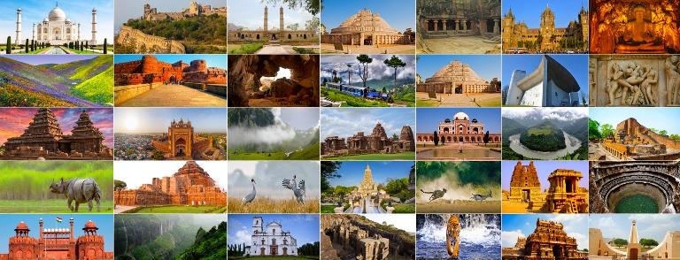 भारत में यूनेस्को की विश्व धरोहर स्थल UNESCO World Heritage Site in India