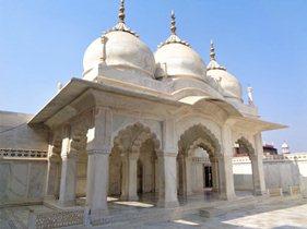 आगरा किले की नगीना मस्जिद - Nagina masjid of agra fort